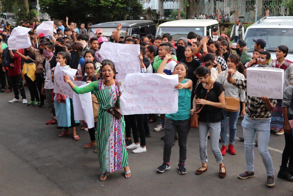 Shillong protest