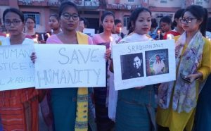 Assam: Students protest in Kokrajhar against mob lynching 3