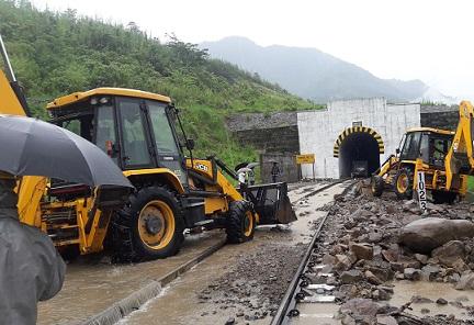 Restoration work going on in Dima Hasao. Northeast Now