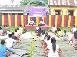 Assam: International Day of Yoga celebrated at Kokrajhar, Chirang 1