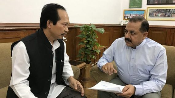 Chakma chief meets DoNER Minister