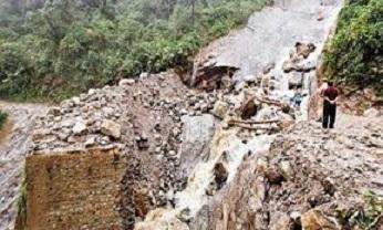 floods/landslide