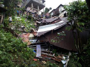 mizo landslide