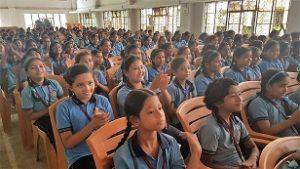 Robots enthrall students of Shrimanta Shankar Academy 1