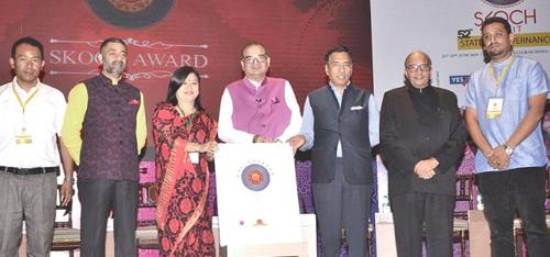 Skoch award of merit