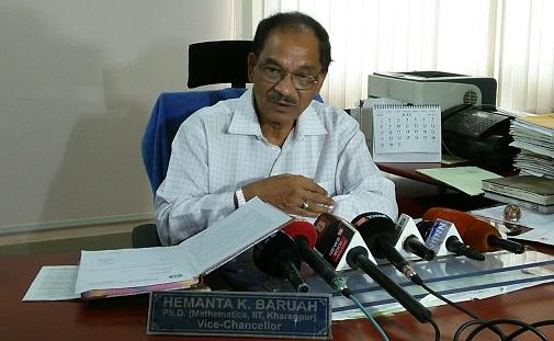 Bodoland University VC