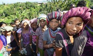 tribal refugees