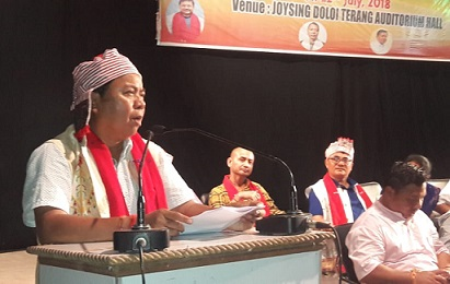 Assam HAD Minister Sum Ronghang stresses on transparency in governance 1
