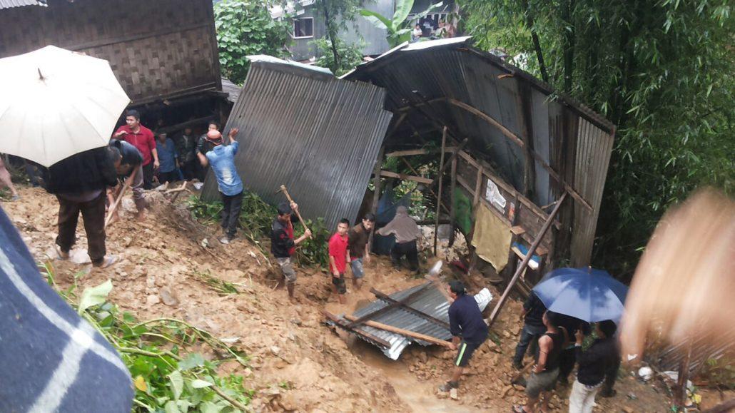 Manipur landslide