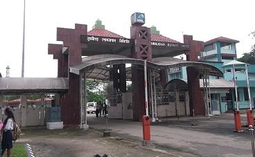 NRL's main gate