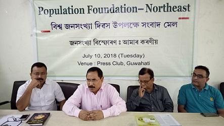 Population Fioundation - Northeast