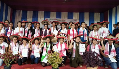 Students felicitated
