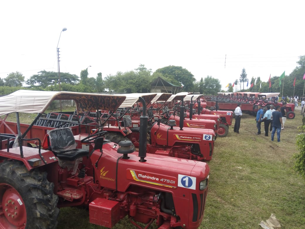 tractors to VDBs
