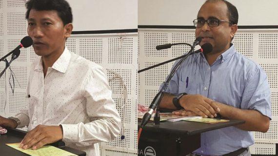 Uttam Teron and Dr Hiranya Kr Nath