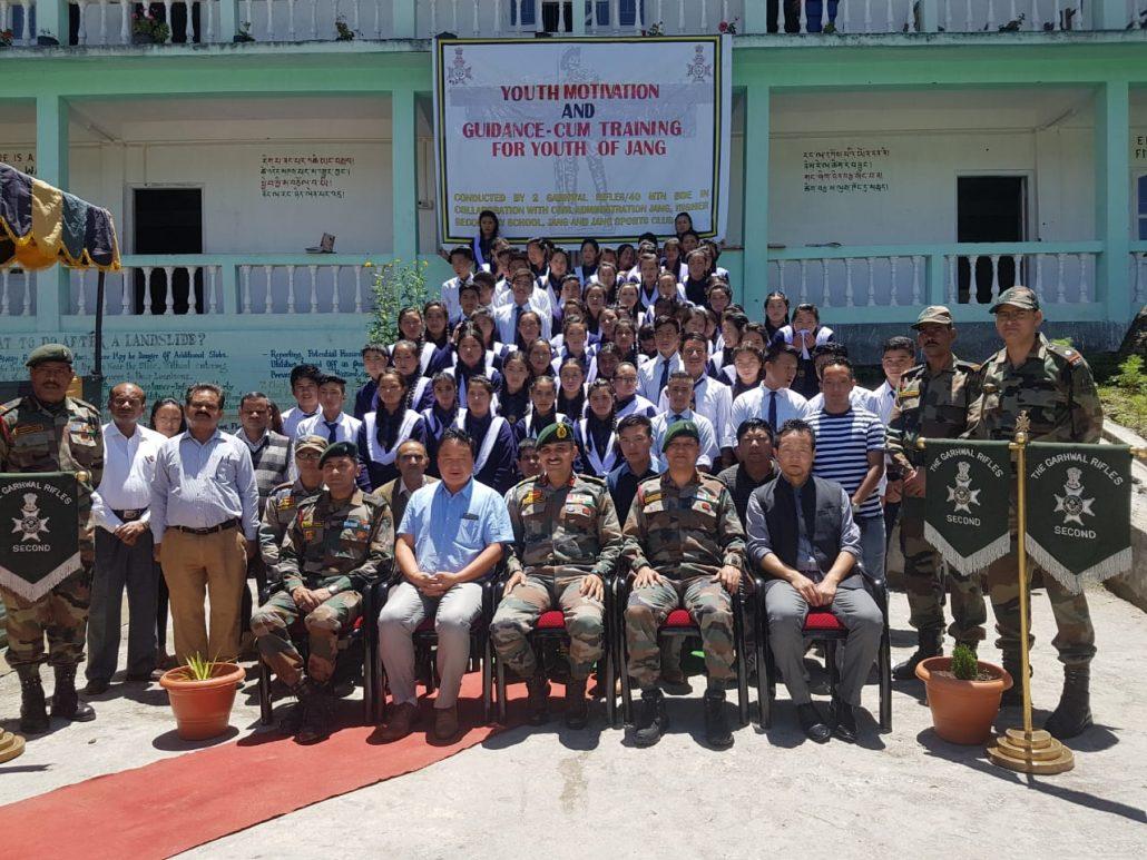 training by army at Tawang