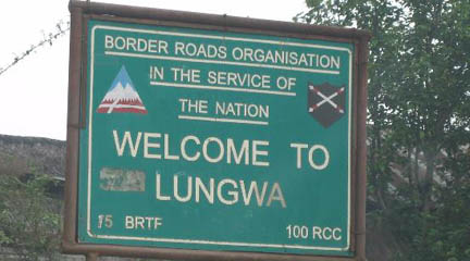 Lungwa village