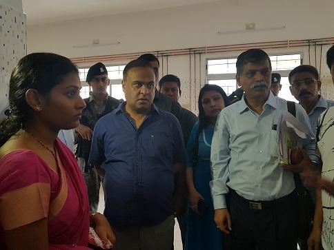 Assam Health minister Himanta Biswa Sarma