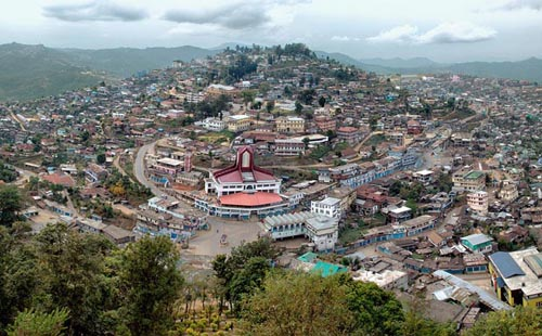 Kiphire district in Nagaland