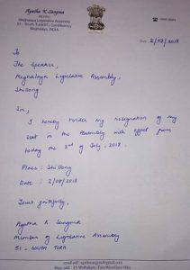Meghalaya: Agatha Sangma steps down as MLA 1