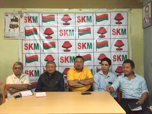 File photo of SKM members. Photo: Sagar Chhetri