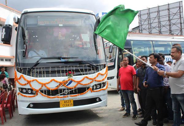 Volvo B-11R multi-axle I-Shift buses