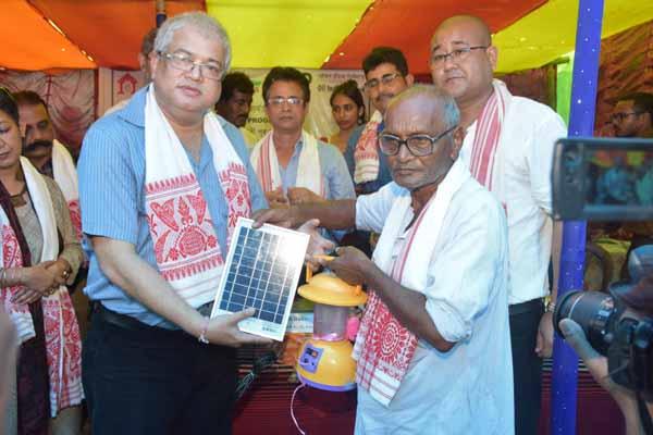 OIL Urja Solar Solution Happy Home Programme