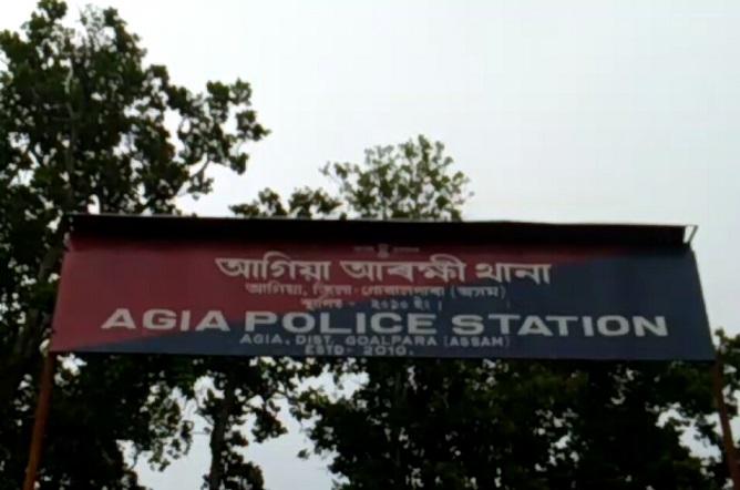Agia Police Station. Photo: Nilmani Sarma