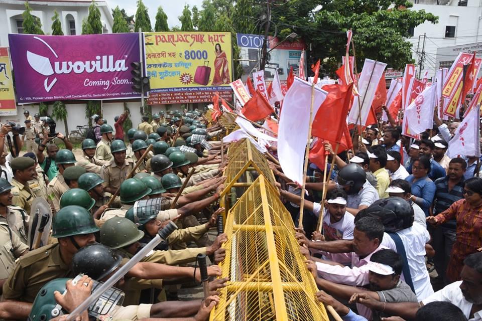 BJP sponsored goons continuing attacks on opposition in Tripura: Sarkar 1
