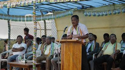 Ranikor by-poll: Meghalaya Deputy CM campaigns for Martin at Rangthong 1