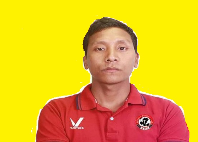 Footballer Moirangthem Govin Singh. Photo: Sangzuala Hmar