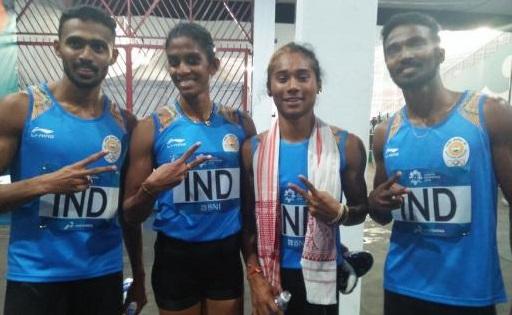 Asian Games mixed relay team
