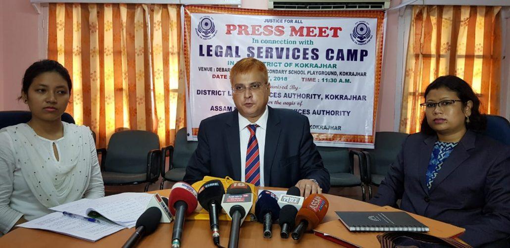 Legal Services Camp in Kokrajhar