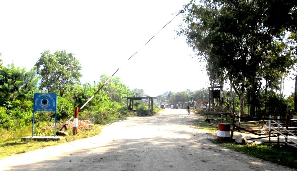 Assam-Nagaland border