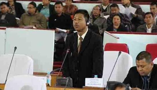 John Leslee K Sangma