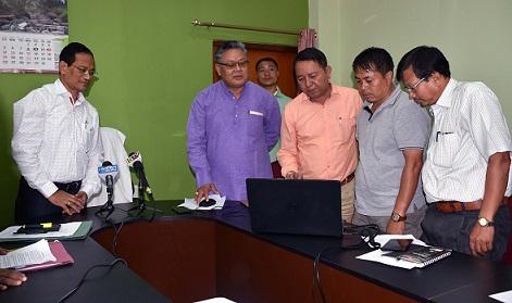 Manipur Revenue Minister