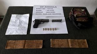 NSCN (K) militant apprehended in Arunachal Pradesh 1