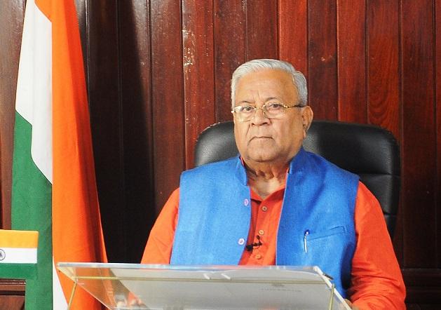 Nagaland Governor P B Acharya