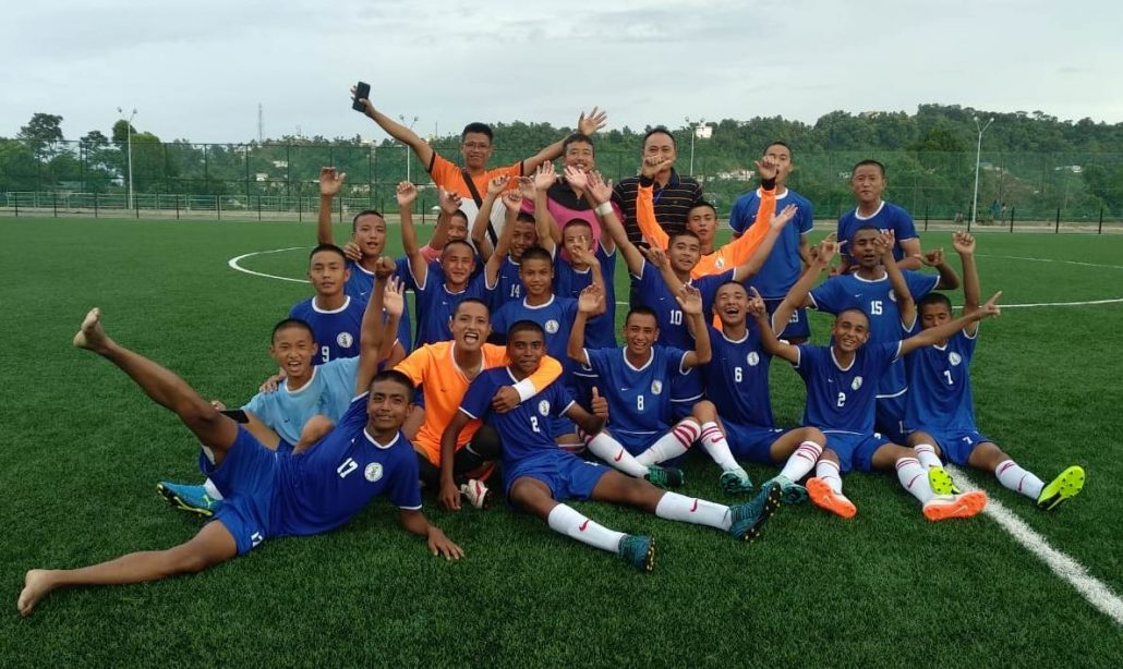 Nat'l Football Championship: Arunachal boys create history, qualifies for final round 1