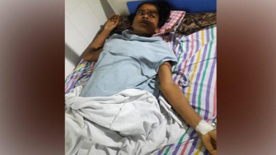 Rupa Kalita at the hospital.
