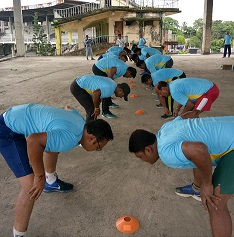 Silchar: SVCC begins intensive fitness training programme 1