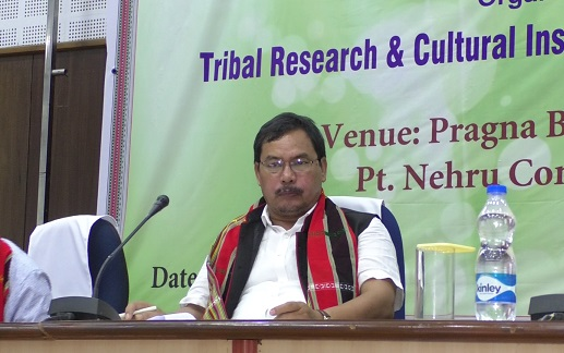 Tripura tribal welfare and forest minister Mevar Kumar Jamatia. Photo: Northeast Now