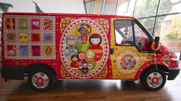 Lata Upadhyaya's truck art