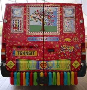 Lata Upadhyaya truck art