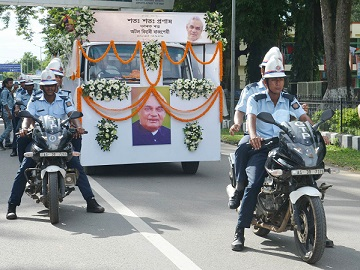 Urn of Vajpayee's ashes reaches Guwahati, to be immersed tomorrow 1