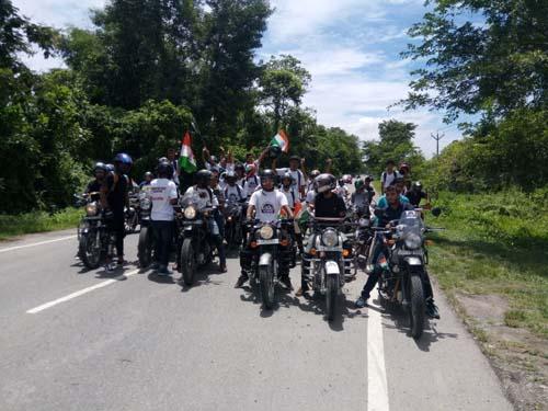 bike rally in tinsukia