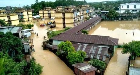 dimapur flood