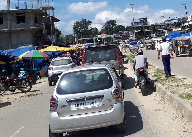 itanagar traffic