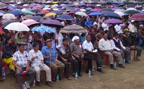 Many prayer programmes were held as part of the third anniversary of Framework agreement