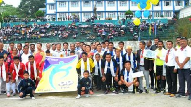 sikkim soccer i-day cup
