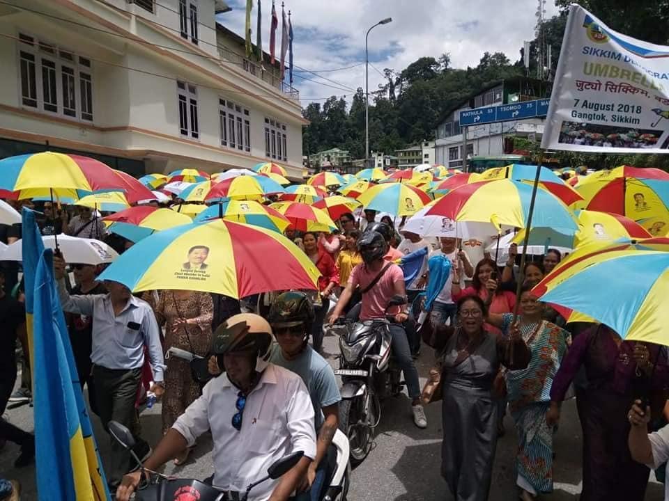 sikkim umbrella